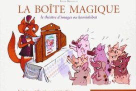 "okładka ksiązki ""magiczna Skrzynka"" Edith Montelle"