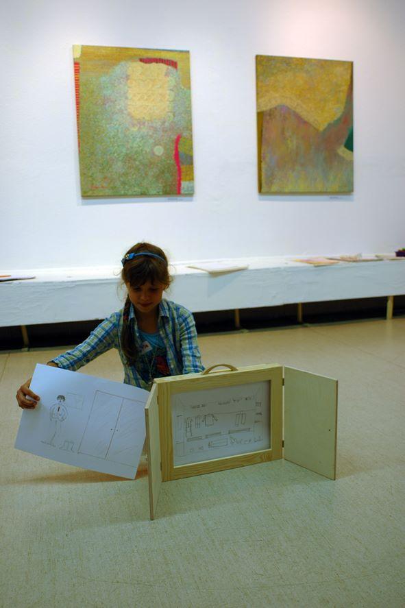 praca dzieci z kamishibai w bwa kielce - wakacje 2013