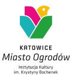 logo - grafika katowice miasto ogrodów instytucja kultury