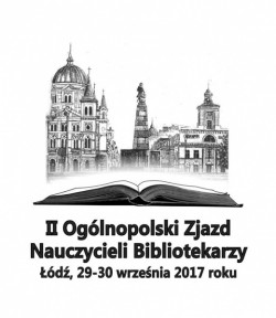 plakat 2 ogólnopolskiego zjazdu nauczycieli bibliotekarzy łódź 2017