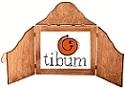 teatrzyk firmowy małe logo tibum w parawanie