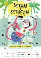 plakat festiwalu sztuki i sztuczki warszawa 2012