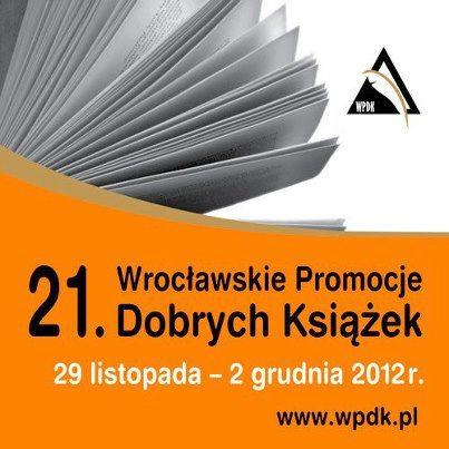 plakat 21. Wrocławskich Promocji Dobrych Książek