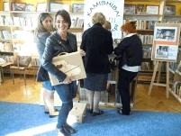 nauczyciele bibliotekarze zdjęcie po warsztatach warszawa